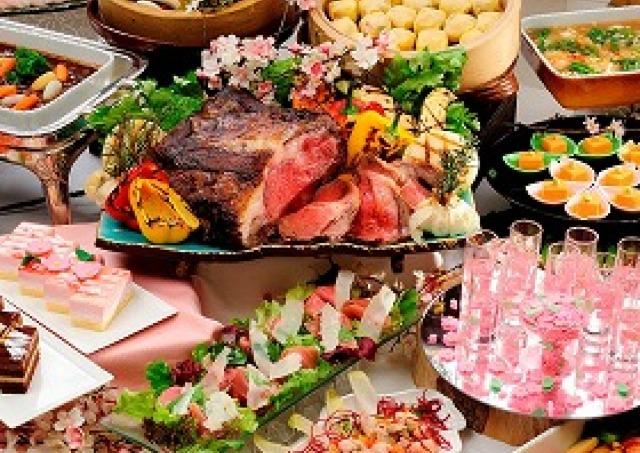 サクラ咲き乱れる「椿山荘」 春の美食に舌鼓!