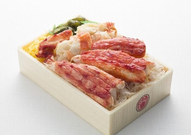 松屋銀座で「北海道展」 山盛りタラバガニの豪快弁当も登場