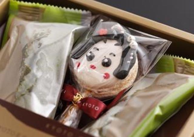 京舞妓に人気の「舞妓マカロン」 1日50セット限定販売