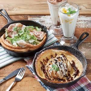 フライパンで楽しむ新スタイルのパンケーキ店 川崎にオープン
