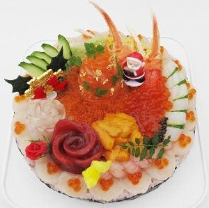 【ブーム調査隊】Xmas需要も 美しすぎる「デコ寿司ケーキ」に脚光