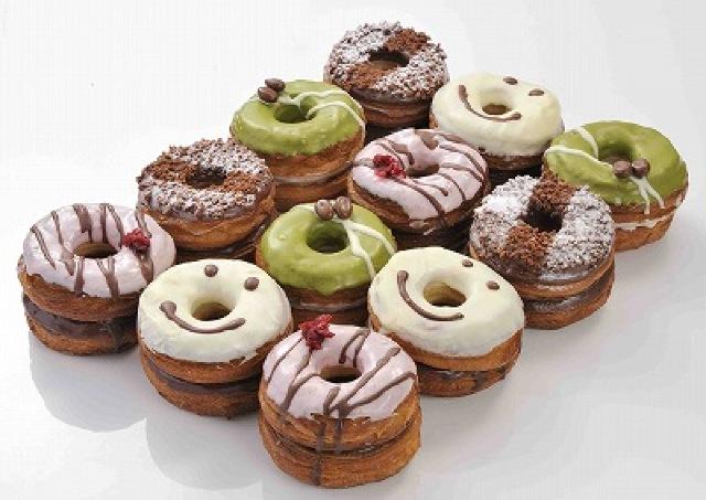 NYで大ヒット中 クロワッサン生地の新感覚ドーナツが日本上陸