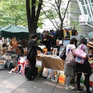 1点ものも多数出品 東京国際フォーラムで巨大「フリーマーケット」