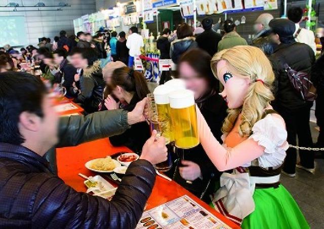 2014年ドイツビールの祭典が開幕 日本で1番早い「秋葉原オクトーバーフェスト」