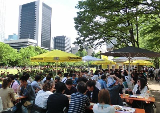 今年も日比谷にやってくる 日本最大級のビールの祭典「オクトーバーフェスト」