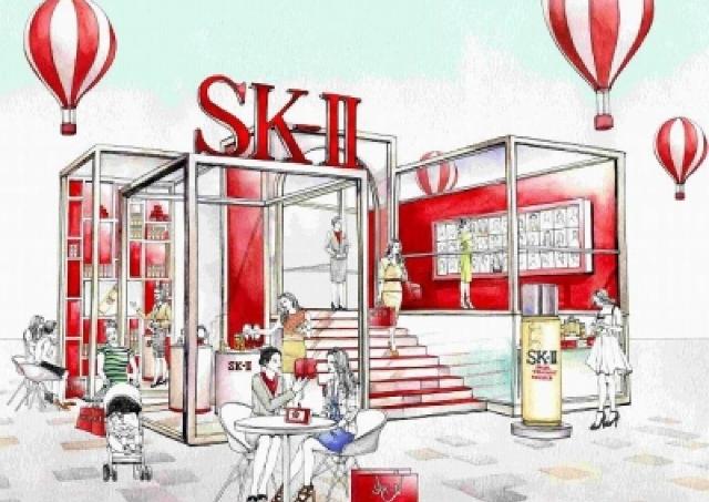 化粧したままOK 無料で肌分析します 表参道ヒルズ「SK-II ピテラ パーク」