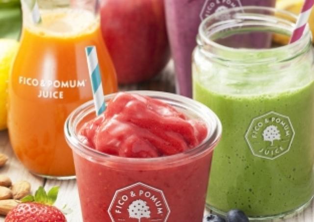 フルーツ&野菜の栄養そのままに スムージーの「FICO&POMUM」2号店、青山にオープン
