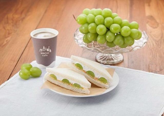 栗、新ジャガ、マスカット... ローソンから3種の秋の味覚サンド