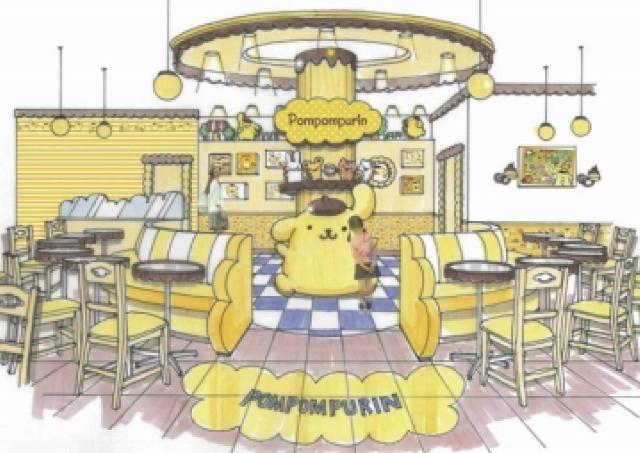 食べちゃいたいくらいカワイイ 行列必至の「ポムポムプリンカフェ」OPEN