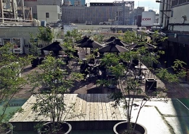 銀座の屋上に「オアシス」発見! 秋空の下でカフェタイムできるスポット3選