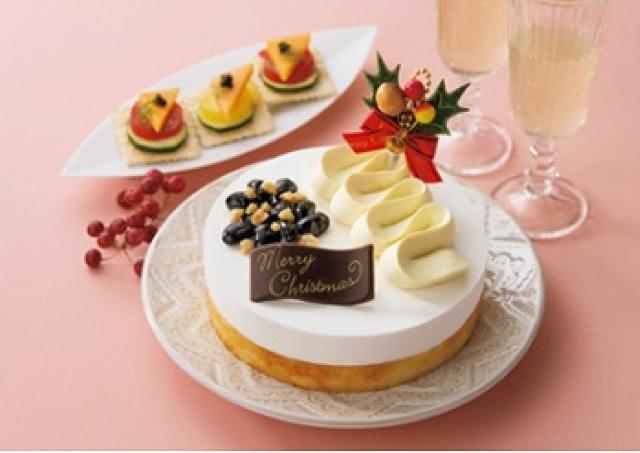 ミシュラン星付き店の「和風Xmasケーキ」 ゆず香るチーズクリームが大人味