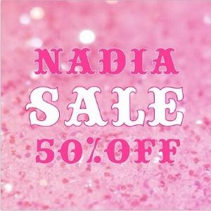 原宿人気ショップ「NADIA」 50%オフの期間限定セール