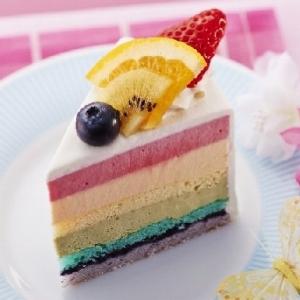 箱根スイーツコレクション2015 7色の虹色ケーキが美しすぎる...!