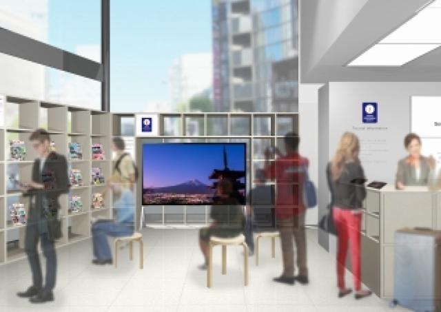 銀座ソニービル「外国人観光案内所」がさらに充実 「窓」を使って日本の魅力伝えます