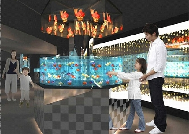 すみだ水族館に新常設展示「エドリウム」 華やかな金魚にうっとり
