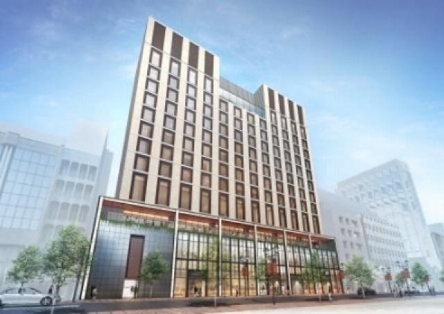 朝日新聞「東京創業の地」にビル建設 2017年秋、商業施設&ラグジュアリーホテル開業