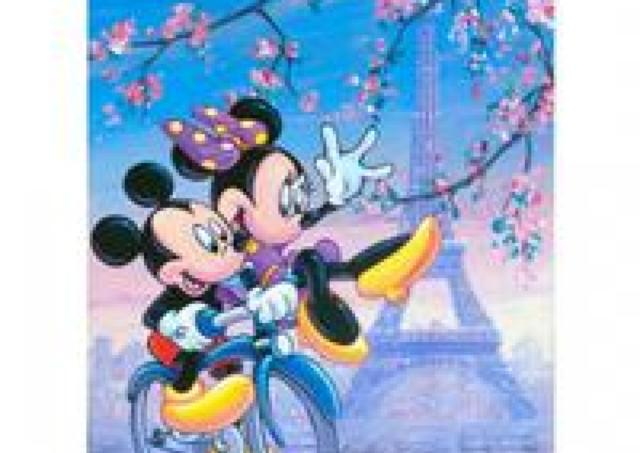 ミッキー、アナ雪アートに希少作品もずらり ディズニーのアート&コレクション