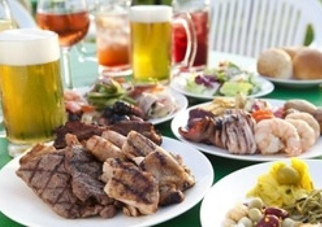 ハイアットリージェンシー大阪屋上 シェフがグリルしてくれる贅沢BBQ
