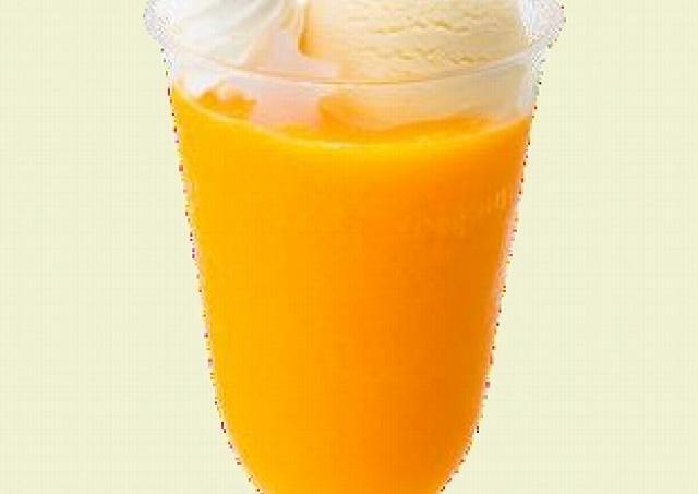 完熟マンゴーの濃厚さそのまま サーティワンから「アイスクリームフロート マンゴ」