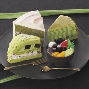 すべて「辻利一本店」の抹茶を使用 銀座コージーコーナーで緑鮮やかな抹茶スイーツ