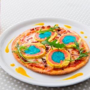 速水もこみちさんが世界遺産ピザを作ったらこうなった!インパクト大「イエローストーン・ピッツァ」完成