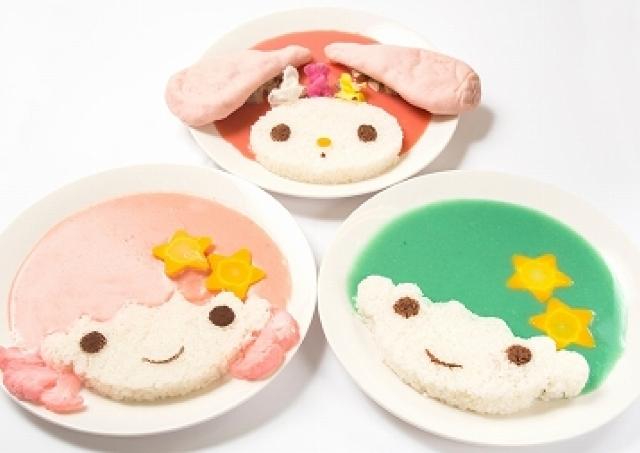 キキ&ララ、マイメロのめちゃかわカレー再び!40thアニバーサリーカフェ開店