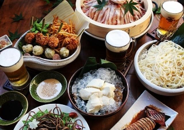 そば屋の「和テイスト」ビアガーデン 粋な和食がビールに合う!