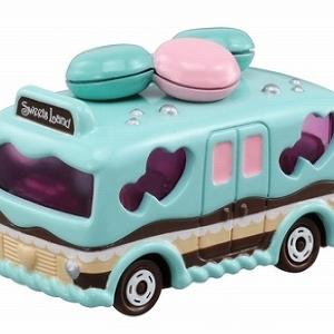 めちゃかわな甘~いバス発進!45周年のトミカから「バースデースイーツバス」