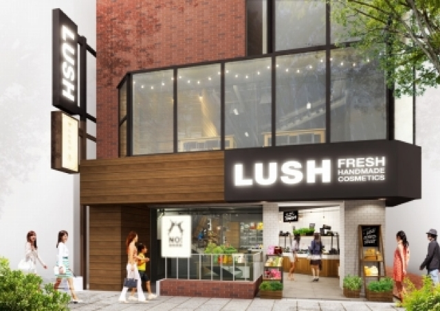 これがLUSHの新スタンダード トレンドの聖地、原宿に20年目の新店オープン