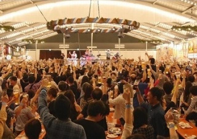 過去最多100種超のビールが集結!横浜赤レンガ倉庫で「横浜オクトーバーフェスト」