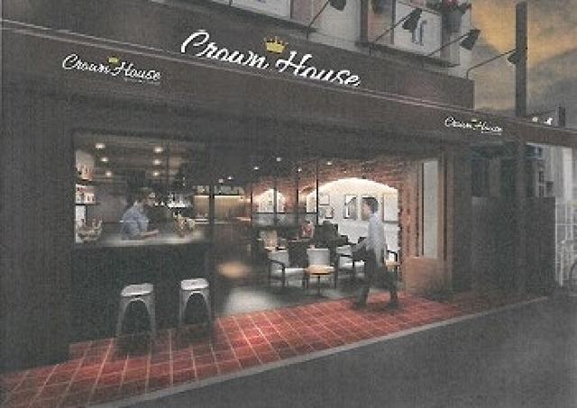 フレッシュネスバーガーの新業態店「クラウンハウス」登場 ワンランク上のバーガーとくつろぎをどうぞ