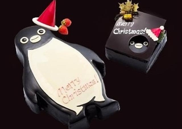池袋に「Suicaペンギン」のXmasケーキ現る! 「悶絶級のかわいさ!」「切れない...」と大反響