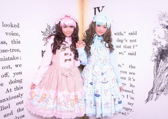 ヘアメイク、ロリィタ服で「キキ&ララ」になりきり! 記念撮影までできる体験サロン
