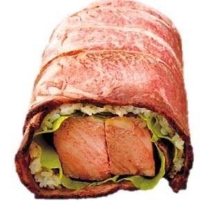 肉・肉・肉の巨大恵方巻きに、開運ゴールド巻き... 池袋東武の「恵方巻き」がすごすぎる!