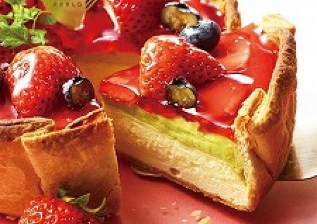 PABLOから3月限定「いちごとピスタチオのチーズタルト」 春らしいフレッシュテイスト