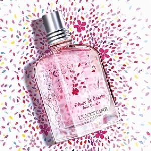 桜パワーで恋に落ちた瞬間を思わせる ロクシタンの「チェリースパークル」