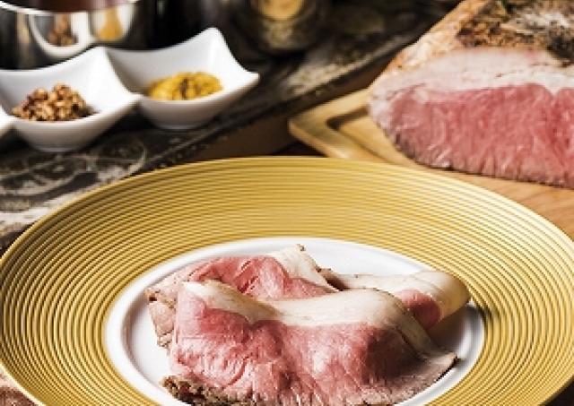 7種のソースで「ローストビーフ」60分間食べ放題! アラビアンロック3店舗で開催