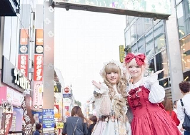 ロリィタファッションで原宿をお散歩! 大人気プランが4月に復活