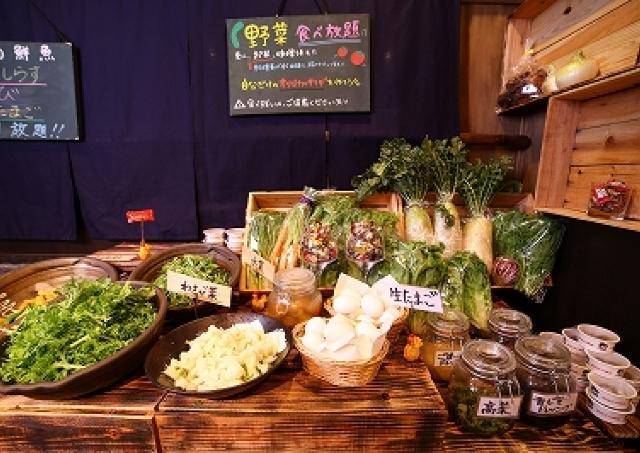 産地直送「野菜」も「鮮魚」も食べ放題1000円! 虎ノ門でお得すぎるランチブッフェスタート