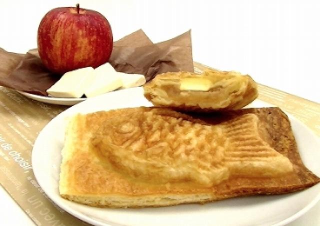 これはたい焼きですか? いいえ、これはアップルパイです。 よく見てみると...