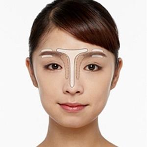眉メークで小顔効果をあげる方法 ポイントは骨格にあわせた「光と影」
