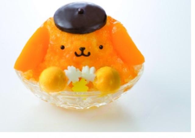 ポムポムプリンのカキ氷、夏季限定で発売! 原宿、横浜、梅田で待ってるよ