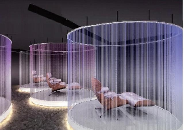 絶頂から一気に寝落ち 新感覚「睡眠のジェットコースター」が銀座にオープン