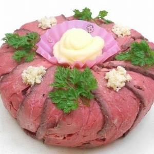 父の日は「肉ケーキ」でお祝い! 池袋東武で予約受付中です
