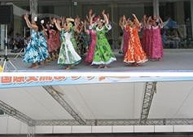 多彩な外国文化に触れられる 国際交流まつり