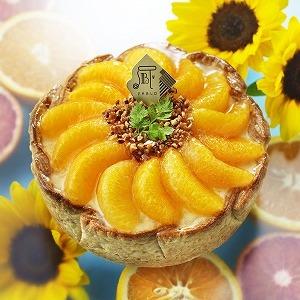 まるでひまわり! PABLOから8月限定「たっぷりオレンジのチーズタルト」