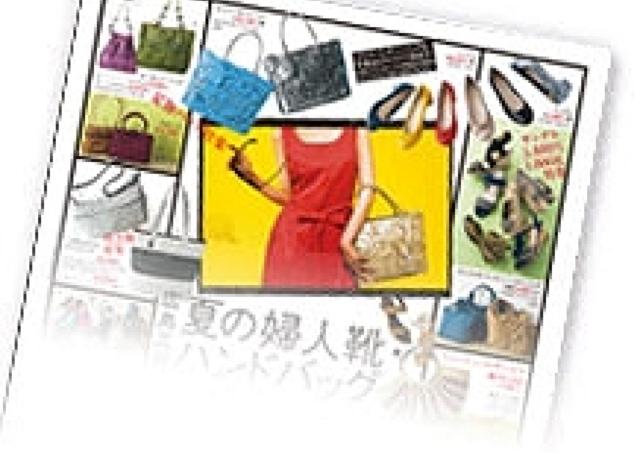 夏物・インポート・人気ブランド続々 「夏の婦人靴・ハンドバッグ大祭典」