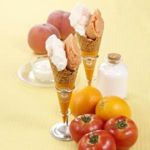 「マリオジェラテリア」にトマトのジェラート誕生! こだわりの塩でおいしさ際立つ