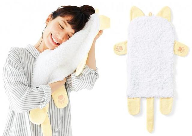 にゃんこ好きの夢、叶います! もふもふすりすりし放題の「猫毛タオル」