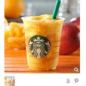 オレンジ果実が決め手 夏にぴったりの「マンゴー×オレンジ」フラペチーノ